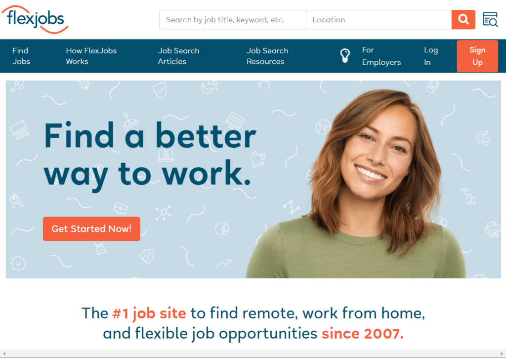 What is the FlexJobs website?