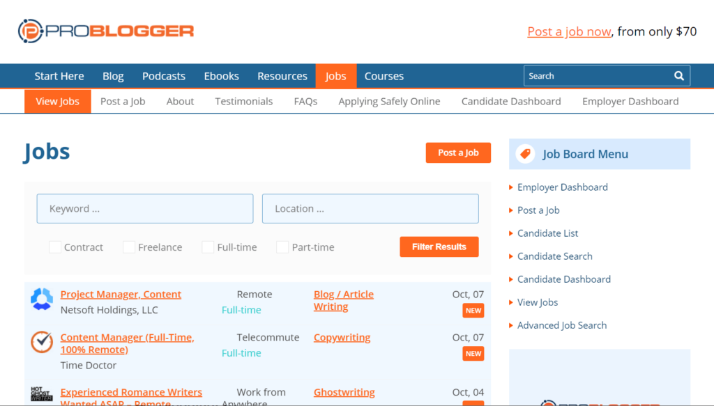 What is ProBlogger?