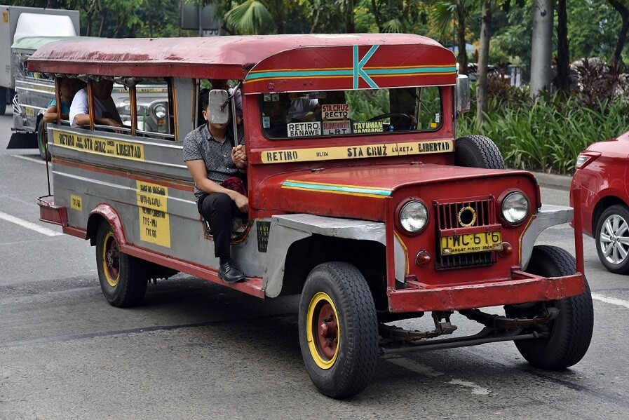 Riding a jeepney to and from our office takes two to four hours a day