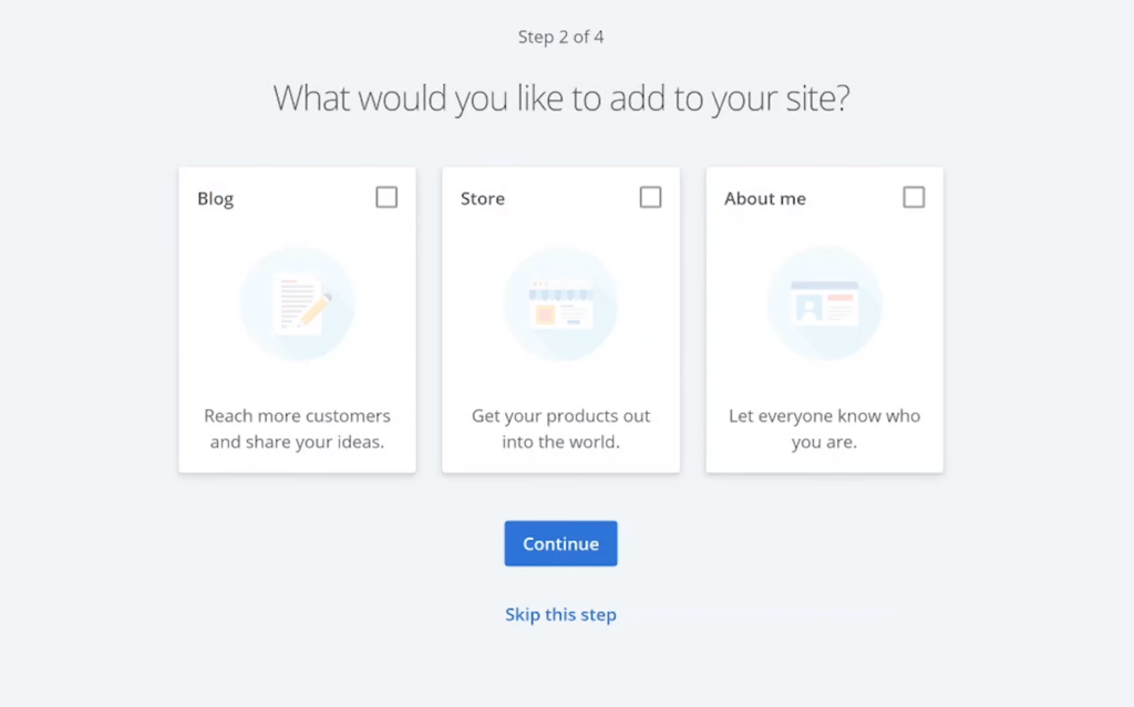Select the pages you want to add